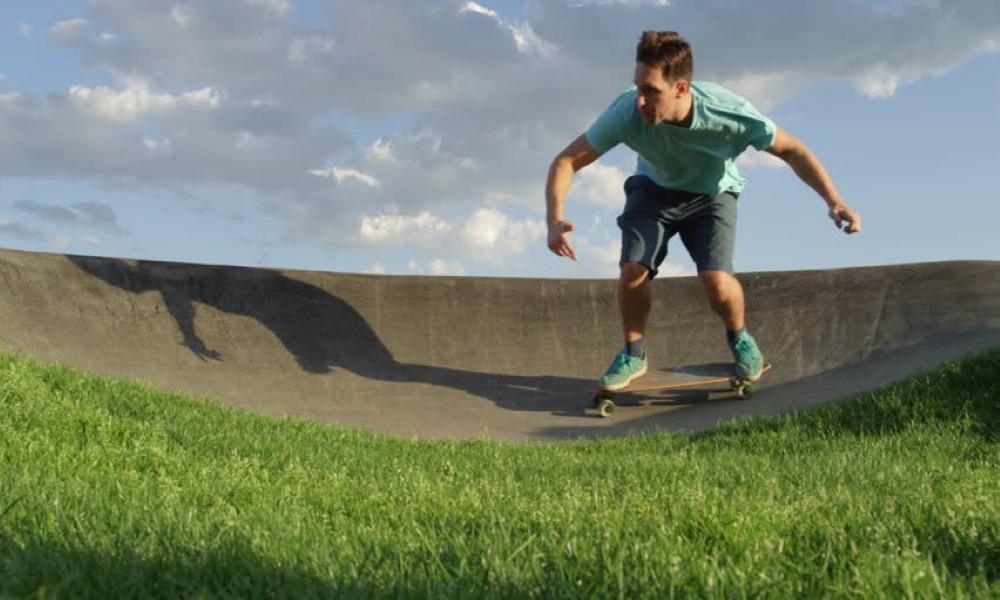 Turn Sharply on a Skateboard